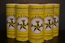 TRIPLE CROWN TABLE SHUFFLEBOARD MEDIUM SPEED SAMPLER POWDER WAX 6 PACK