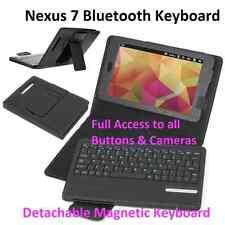 Nexus 7 2013 Tastiera Bluetooth Rimovibile Stand Case Cover wireless
