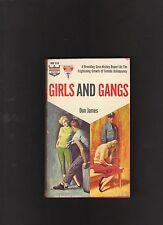 VINTAGE PBO GIRLS AND GANGS.JUVENILE DELINQUENTS. MONARCH 534.NICE COPY.GGA!