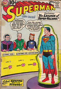 SUPERMAN # 147 (DC) AUG 1961 SILVER AGE