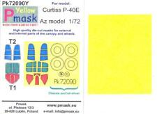 Model Maker 1/72 CURTISS P-40E WARHAWK Kabuki Tape Paint Mask Set for AZ Kit