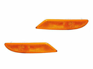 FITS MERCEDES S CLASS 2007-2011 PAIR FRONT SIDE MARKER SIGNAL LIGHT LAMP