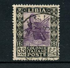 1921 - LIBIA  ITALIANA - LOTTO/24760 - 55 cent. SERIE PITTORICA - USATO