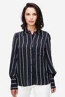 Twist & Tango - Bluse Damen Streifen-Muster elegant schwarz NEU: 129 €
