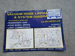 VACUUM HOSE LAYOUT & SYSTEM DIAGRAMS No2 1991-96Ford, Holden, Nissan, Toyota ...