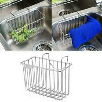 Rack Sponge Brush Soap Holder Stainless Steel Hollow Out Sink Storage Home