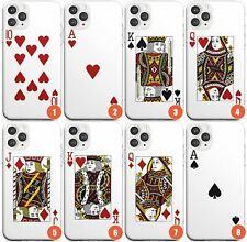 Playing Card Designs Slim Phone Case for iPhone | Poker Card Deck Design Blackja