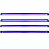 "American DJ Startec 48"" 20W Stage Party UV LED Black Light Strip Bar (4 Pack)"