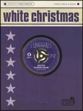 White Christmas Bing Crosby Vocal Essential Piano Singles Sheet Music Book/Audio