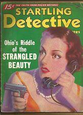 STARTLING DETECTIVE ADVENTURES Jan 1936 VINTAGE TRUE CRIME PULP