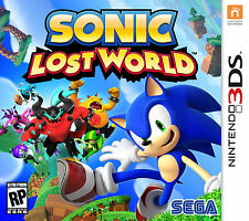 Sonic Lost World (Nintendo 3DS, 2013)