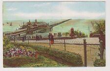 Essex postcard - Southend Pier from Gardens