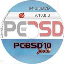 PCBSD v10 Joule Unix Operating System, 64 bit DVD alternative O/S version 10
