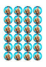24 x Large John Cena Edible Cupcake Toppers Birthday Party Cake Decoration