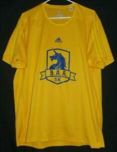 Adidas 2018 Boston Marathon B.A.A. 5K Jersey Shirt 2XL Running