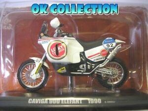 1:24 Rarissima Very Rare Moto Dakar CAGIVA 900 ELEFANT (1990) - Edi Orioli