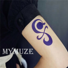 One Piece Nami Cosplay Tattoo Sticker Tangerine Pinwheel Cross Tatoo