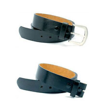 """Snap On Black Leather Belt with Buckle - Size S 29""""-33"""""""