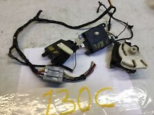 08-13 NISSAN ROGUE SET OF 3 AC HEATER FLAP BLEND DOOR ACTUATOR MOTOR OEM D 130C