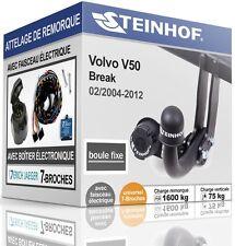 ATTELAGE fixe VOLVO V50 Break 2004-2012+FAISC.UNIV. 7broches COMPLET