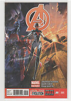 Avengers (Volume 5) #5 Captain America Wolverine Hulk Iron Man Spiderman 9.6