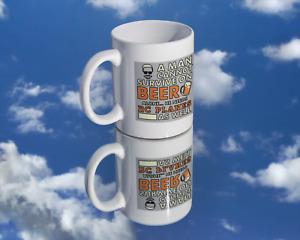 Coffee Mug - Beer and RC Flying Mug for the RC Plane Enthusiast