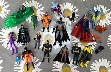 Bundle of DC Figures - Batman Superman Green Lantern, etc