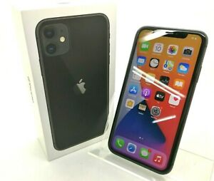 Smartphone APPLE IPHONE 11 128GB Model A2221 MWM2QL/A Black 88% Battery