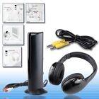 CUFFIA CUFFIE WIRELESS WIFI SENZA FILI 5IN1 CON MICROFONO RADIO PC TV CD