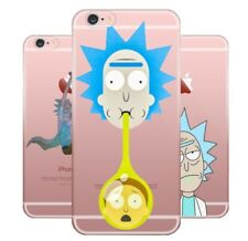 Rick And Morty Soft TPU Silicone Case iPhone XS Max XR X 8 7 6 Plus 5 Samsung