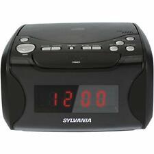 Dual Alarm Clock Cd Player Am/Fm Radio Usb Charging