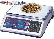 CAS EC-60 EC Series High Accuracy Counting Scale, 60lb Capacity, 0.002lb Readab