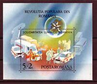 HB RUMANIA / ROMANIA  año 1990 yvert nr. 209 nueva La revolucion Rumana