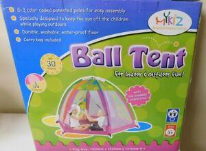 Ball Tent For Indoor & Outdoor Fun