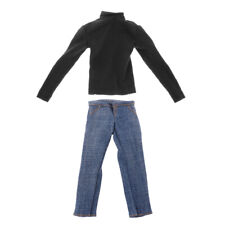 1:6 Turtleneck Knit Sweater w/ for 12inch Hot Toys Action Figure DML BBI