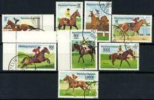 Togo 1985 Mi. 1836-1843 Used 100% Horse racing horses