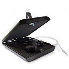 Car Gun Safe Auto Vehicle Locking Vault Pistol Lock Box Best Portable Steel Case