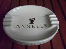 ANSELLS BREWERY ASHTRAY MADE BY WADE PDM ENGLAND GOOD 7 1/2INS BY 6 1/2 INS