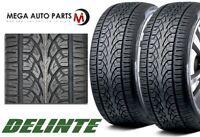 2 Delinte Desert Storm D8 305/30ZR26 109W XL All Season Performance Truck Tires