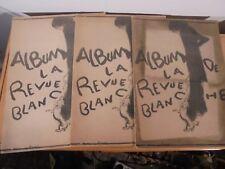 """3 Jaquettes """"Album de la Revue Blanche"""" Pierre BONNARD Maeght Edition."""