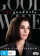 The Good Wife The Final Season 7 Final BRAND NEW SEALED R4 DVD