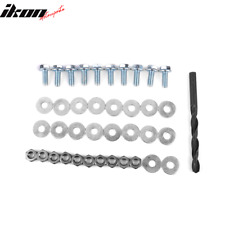 Hardware Kit Drill M8 Bolts Nuts Washers Front Splitter Sideskirt Extensions