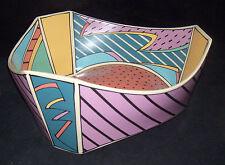 Rosenthal Studio Linie Flash Triangular Vegetable Bowl Dorothy Hafner Memphis