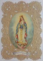 Antico Santino Canivet su Merlettato, Santa Maria di Guadalupe  (pos.A11.27)