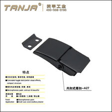 Concealed toggle latch /built-in draw latch black electrophoresis paint