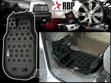 RBP BLACK ALUMINUM OFF ROAD DIMPLE DESIGN FLOOR MAT FOR CHRYSLER DODGE RAM