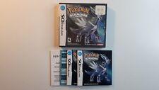 Pokémon Diamond Version Nintendo DS - BOX AND MANUAL ONLY - NO GAME !!