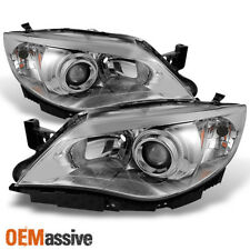 Fit 2008-2011 Impreza Outback 2008-2014 Wrx Halogen Clear Projector Headlights (Fits: Subaru)