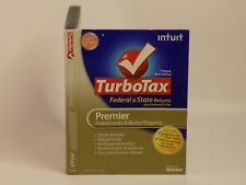 2012 Intuit TurboTax Federal+State Federal E-File Premier Investments and Rental