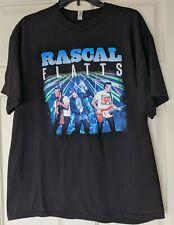 New Rascal Flatts Rhythm & Roots tour 2017 Black Xl country concert shirt